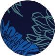 rug #657809 | round blue rug