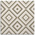 rug #661865 | square white rug