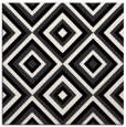 rug #661869 | square black retro rug