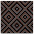 rug #661873 | square black retro rug