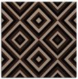 rug #661877 | square black retro rug