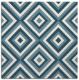 rug #661889 | square white geometry rug