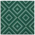 rug #661921 | square blue-green rug