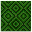 rug #661933   square green retro rug