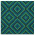 rug #661945   square blue geometry rug