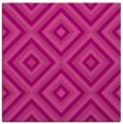 rug #662073 | square pink retro rug