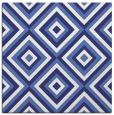 rug #662145 | square white retro rug