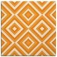 rug #662209 | square light-orange retro rug