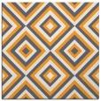 rug #662213   square light-orange retro rug