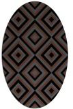 rug #662227 | oval popular rug