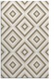 rug #662709 |  mid-brown retro rug