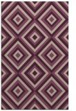 rug #662725 |  pink retro rug
