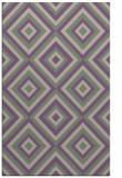 rug #662749    purple retro rug