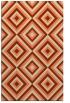 rug #662765 |  orange popular rug