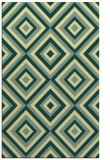 rug #662773 |  yellow geometry rug