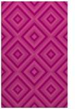 rug #662777    pink retro rug