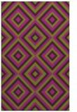 rug #662797 |  purple retro rug