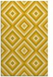 rug #662857 |  yellow geometry rug