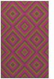 rug #662897 |  pink retro rug