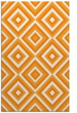 rug #662913    light-orange retro rug