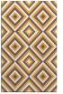 rug #662917 |  light-orange retro rug