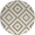 rug #662921 | round beige popular rug