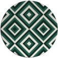 rug #663053 | round blue-green rug