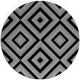 rug #663095 | round retro rug