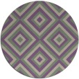 rug #663101 | round beige geometry rug