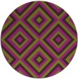 rug #663149 | round purple retro rug