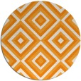 rug #663265 | round light-orange geometry rug