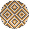 rug #663269   round light-orange retro rug
