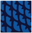 rug #663793 | square blue abstract rug