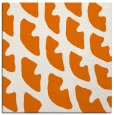 rug #663817 | square orange abstract rug