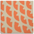 rug #663821 | square orange abstract rug