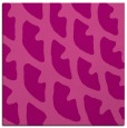 rug #663833   square pink abstract rug