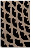 rug #664341 |  black abstract rug