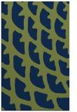 rug #664365 |  blue abstract rug