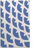 rug #664369 |  blue abstract rug