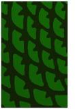 rug #664397 |  green abstract rug
