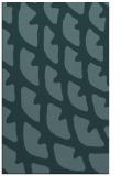 rug #664401    blue-green abstract rug