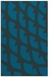 rug #664409 |  blue abstract rug