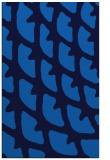 rug #664497 |  blue abstract rug