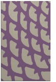 rug #664509 |  purple abstract rug