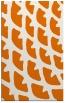 rug #664521 |  orange abstract rug