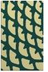 rug #664533    yellow abstract rug
