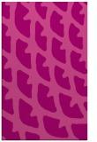 rug #664537 |  pink abstract rug