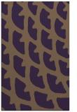 rug #664561 |  purple abstract rug