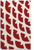 rug #664577    red abstract rug