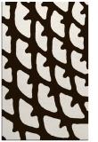 rug #664625    brown abstract rug